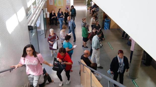 Interior de un centro de salud de Córdoba