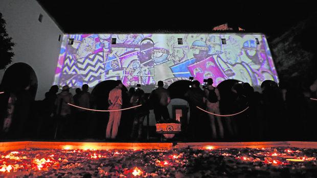 Espectáculo nocturno del Alcázar de los Reyes Cristianos