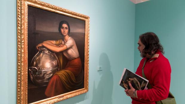 «Fuensanta», el cuadro más caro de Romero de Torres, expuesto en Zaragoza