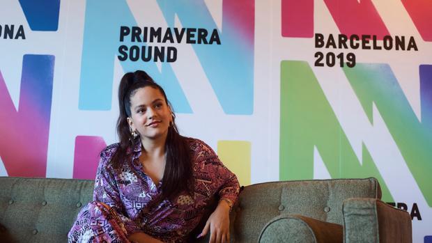 Rosalía a su paso por el festival Primavera Sound