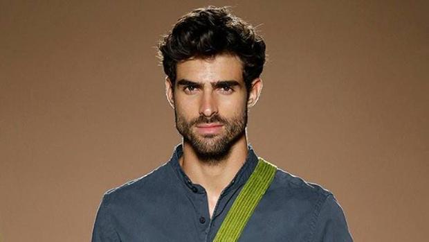 El modelo hispanocubano Juan Betancourt