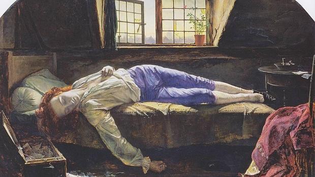 Chatterton palidez mortal for Alfred de vigny la maison du berger