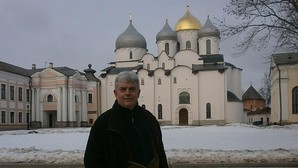 Xosé Manoel Núñez Seixas, fotografiado en Rusia