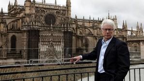 El escritor británico Ken Follet, durante su reciente estancia en Sevilla