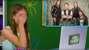 Así reaccionan los niños al escuchar por primera vez a Metallica