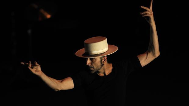 Andrés Marín, en su espectáculo «Carta blanca»