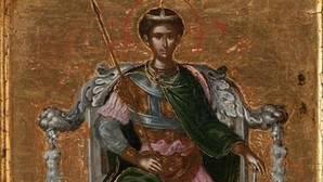 Detalle de la obra del Greco que acaba de ver la luz