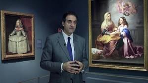 La infanta y la Virgen Niña, según Finaldi