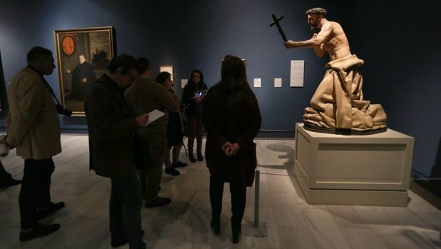 Presentación de la exposición que dedicó el pasado año a Francisco Pacheco el Bellas Artes