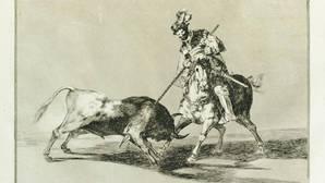 Los grabados de «La tauromaquia» de Goya descubiertos en un castillo francés, a subasta