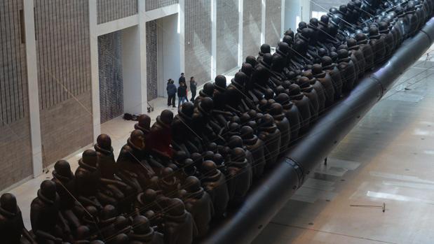 Instalación de Ai Weiwei en el Trade Fair Palace de Praga