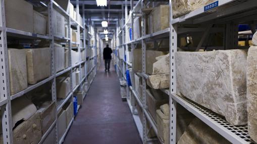 A los pasillos vienen todos los objetos relacionados con el cristianismo de los orígenes