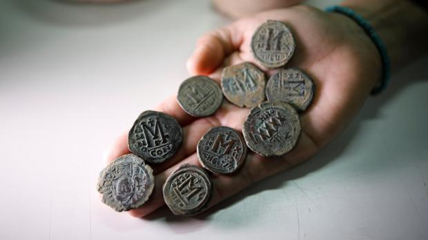 Monedas de la época bizantina