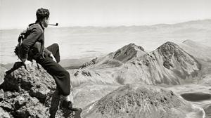 Autorretrato de Rulfo en el Nevado de Toluca