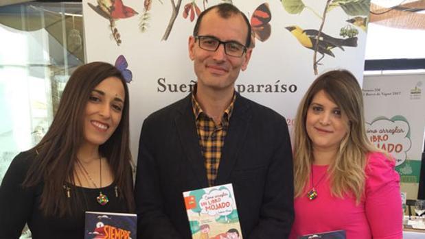 Roberto Aliaga, Fátima Embark y Mercedes Murillo