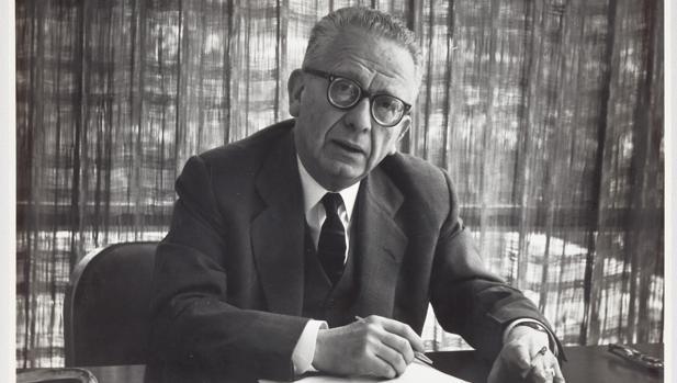 El escritor Max Aub