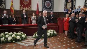 Eduardo Mendoza, al recoger el Premio Cervantes