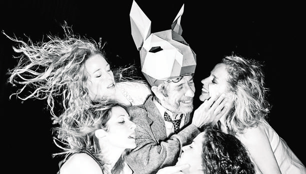 Chema Adeva, Laura Galán, Nathalie Poza, Ainhoa Santamaría y María Vázquez , en «Sueño»