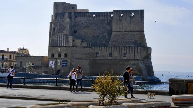 Vista de la ciudad de Nápoles