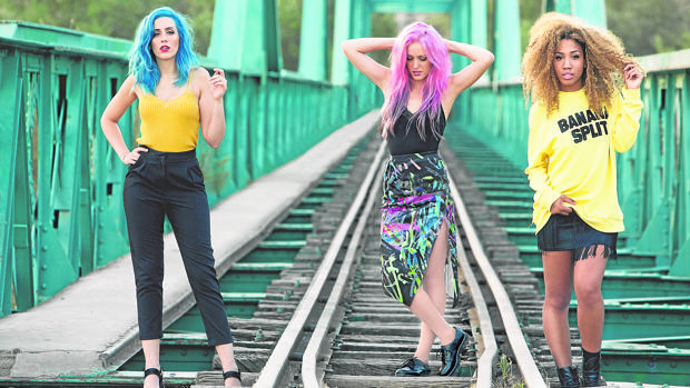 Las integrantes de Sweet California