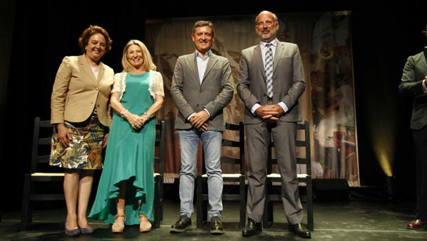 Un momento del 20 aniversario de la fundación Cristina Heeren