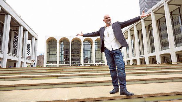 Juan Jesús Rodríguez en el Lincoln Center de Nueva York
