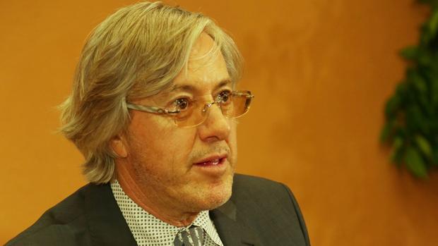 El escritor Alejandro Roemmers