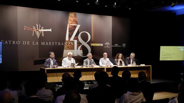 Garde, Moral, Vázquez, Sutil y Halffter en la presentación de la temporada