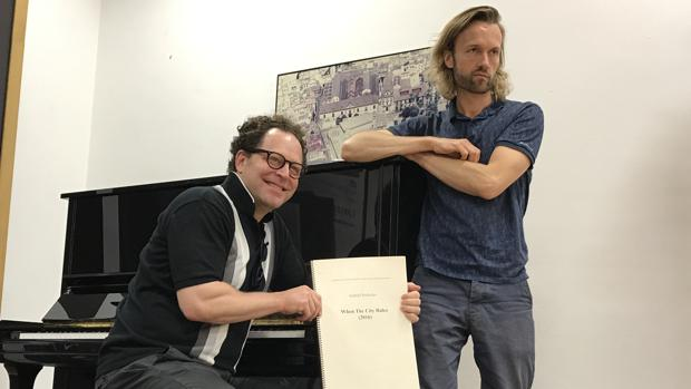 John Axelrod y Gabriel Prokofiev, que estrena obra en Europa con la ROSS