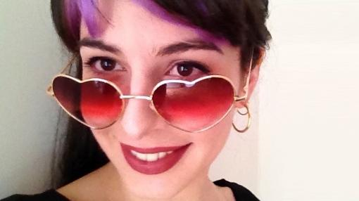 Otro «selfie» de Laura Ramis