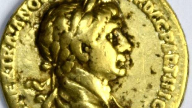 Uno aureos de Trajano