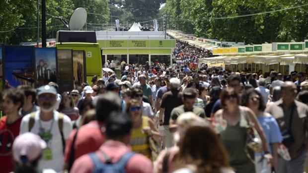 Imagen de la Feria del Libro de Madrid de 2017