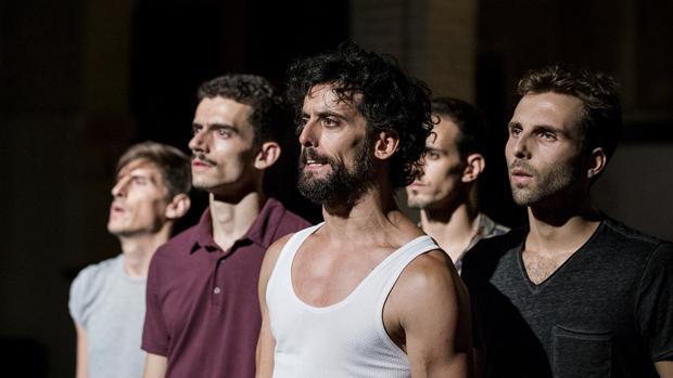 Momento de la representación, creada por Isabel Vázquez
