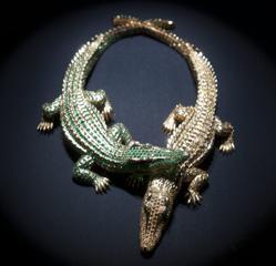 Collar de Cartier expuesto en una exposición que le dedicó el museo a la firma de joyería