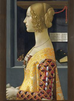 «Retrato de Giovanna Tornabuoni», de Ghirlandaio, una de las joyas del museo