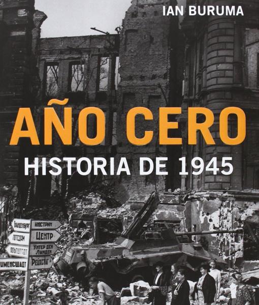 Cubierta de «Año cero. Historia de 1945»