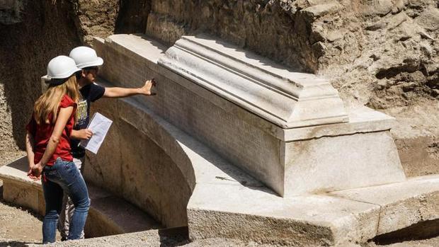 La tumba del «príncipe» de los gladiadores