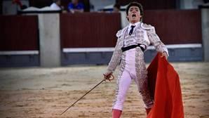 Jorge Isiegas, en Las Ventas