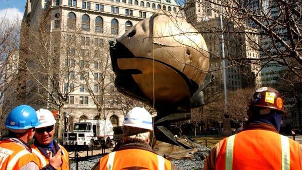«La esfera», de Fritz Koenig