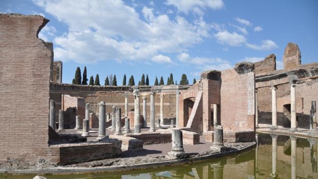 El Teatro Marino en la Villa Adriana