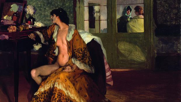 «Celestina» (1905), óleo de Zuloaga presente en la exposición