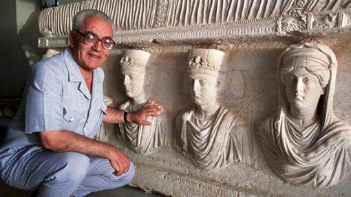 Khaled al Assad fue el último director de la ciudad histórica de Palmira hasta la llegada del Daesh. Defendió sus obras con su propia vida