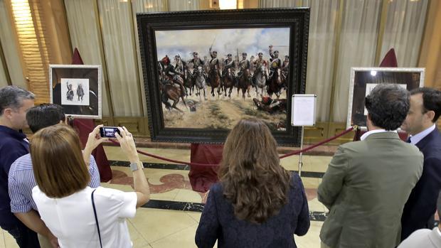 El cuadro «La Degollá», que se podrá ver hasta el 20 de octubre