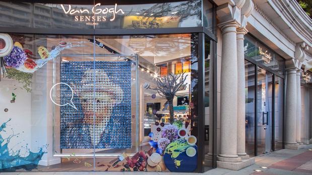 El Vang Gogh Senses, en Hong Kong