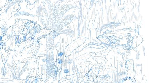 Detalle de «Sueño de la Mamachonga», perteneciente a «La selva»