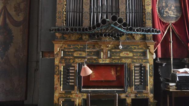 El órgano del convento de Santa Inés que inspiró la leyenda de Maese Pérez