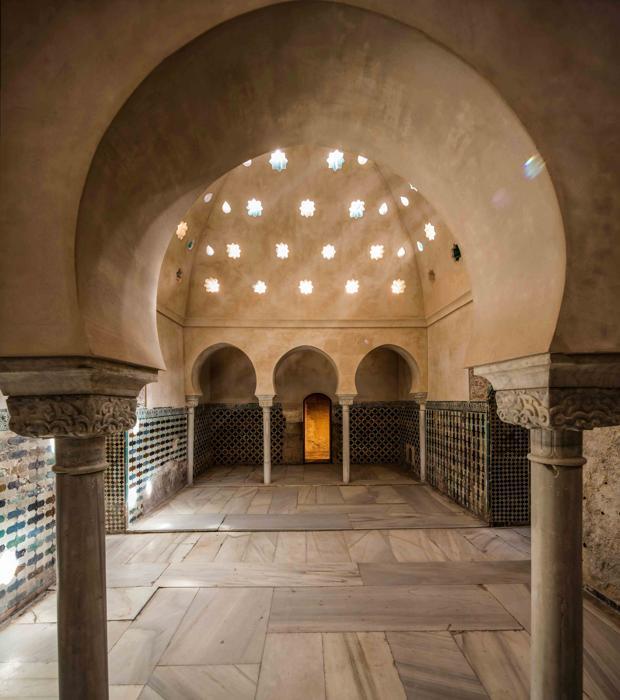 Baño Real de Comares de la Alhambra