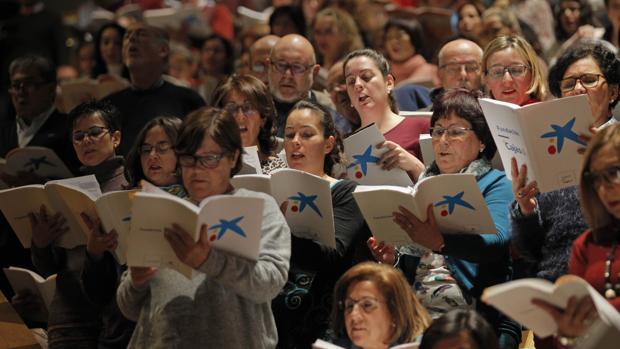 Más de 400 cantantes no profesionales participaron en la iniciativa