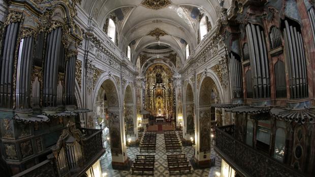 Parroquia de la Magdalena, cerca de la cual estuvo el hogar de los padres de Murillo