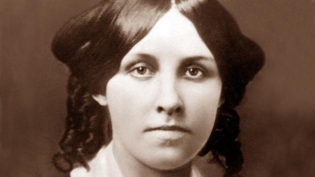 Retrato de juventud de Louisa May Alcott
